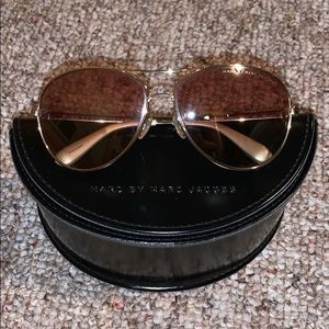 Marc by Marc Jacobs women's aviator sunglasses
